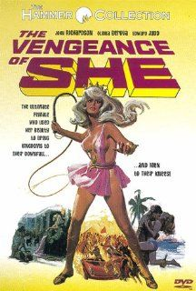 The Vengeance of She: John Richardson, Olga Schoberov�, Edward Judd, Colin Blakely, Jill Melford, George Sewell, Andr� Morell, Noel Willman, Derek Godfrey, Dani�le No�l, Gerald Lawson, Derrick Sherwin, Wolfgang Suschitzky, Cliff Owen, Raymond Poulton, Aida