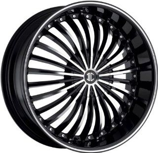 2CRAVE   no.19   24 Inch Rim x 10   (6x135/6x5.5) Offset (30) Wheel Finish   gloss black machined face Automotive