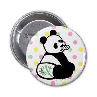 Baby Panda Cartoon Pins