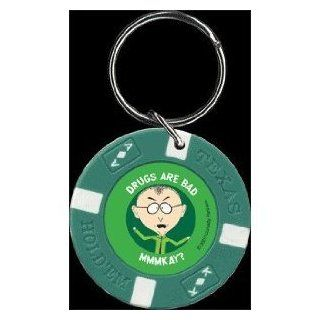 South Park Drugs Are Bad Chip Keychain FK2003 Toys & Games
