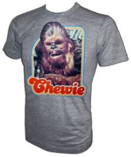 Star Wars A New Hope CHEWIE Chewbacca Co Pilot Iron On T Shirt Clothing