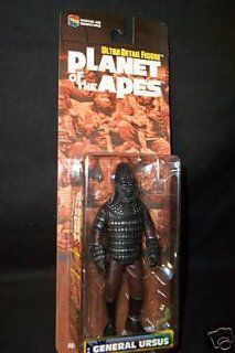 Planet of the Apes General Ursus Medicom Action Figure: Toys & Games