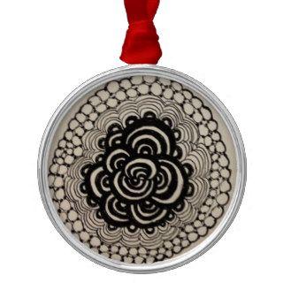 Zentangle inspiró ornamentos para reyes magos de