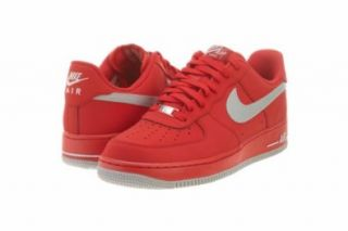 Nike Air Force 1 Low Mens Basketball Shoes 488298 608 University Red 7.5 M US Fashion Sneakers Shoes