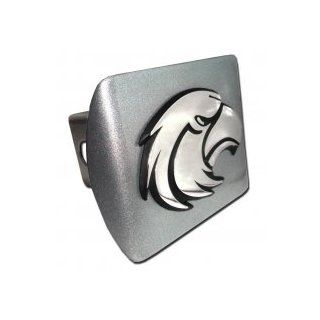"""University of Southern Mississippi Golden Eagles """"Brushed Silver with Chrome """"Eagle"""" Emblem"""" NCAA College Sports Trailer Hitch Cover Fits 2 Inch Auto Car Truck Receiver Automotive"""