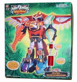 Power Rangers Deluxe Isis Wild Force Electronic Megazord: Toys & Games