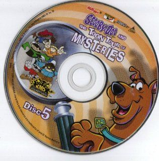 Scooby doo and the Toon Tour of Mysteries Disc 5 DVD ROM for Computer Movies & TV