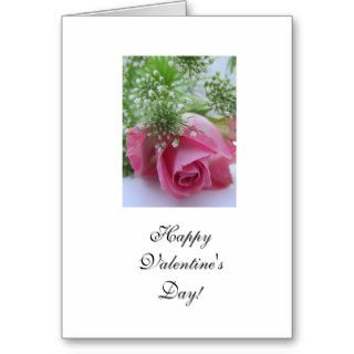 Rose Happy Valentine's Day Greeting Card