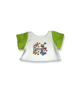 """2027 Groovy Butterfly T Shirt Clothes for 14""""   18"""" Stuffed Animals and Dolls Toys & Games"""