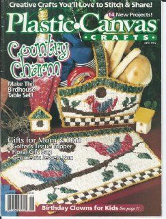 PLASTIC CANVAS CRAFTS MAGAZINE  JUNE 1997 : Other Products : Everything Else