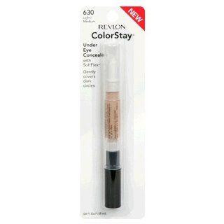 Revlon ColorStay Under Eye Concealer with SoftFlex, Light/Medium 630, 0.04 Ounces (Pack of 2)  Concealers Makeup  Beauty