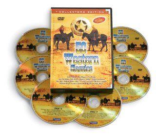 "50 Western DVD Movie Classics Roy Rogers,Tex Ritter,Ann Sheridan, Bob Steele, Buster Crabbe, Edgar Buchanan,Rex Bell ,Robert Blake, Ray ""Crash"" Corrigan, Michael Landon, William Boyd, Lorne Greene, Dale Evans, Gabby Hayes John Wayne Sports &amp"