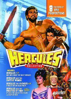 Hercules Collection Steve Reeves, Mark Forest, Reg Park, Ettore Manni, Gordon Scott, Gordon Mitchell, Richard Harrison Movies & TV