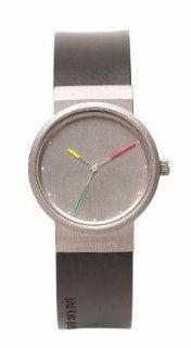 Jacob Jensen 651 Ladies Titanium Black Watch: Watches