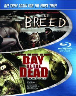 The Breed / Day of the Dead, The Need to Feed [Blu ray] Ving Rhames, Michelle Rodriguez, Taryn Manning, Mena Suvari, Nick Cannon, Wes Craven, George A. Romero, Nick Mastandrea, Steve Miner Movies & TV