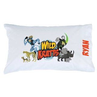 Personalized Wild Kratts Creature Power Pillowcase: Toys & Games
