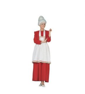 Mrs. Santa Claus Adult Costume Size Standard Clothing