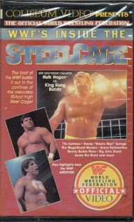 "WWF's Inside The Steel Cage [VHS]: Hulk Hogan, King Kong Bundy, Tito Santana, Randy ""Macho Man"" Savage, Andre the Giant, Kamala: Movies & TV"