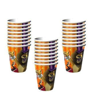 Madagascar 3 Party 9oz. Paper Cups   24 Guests Toys & Games