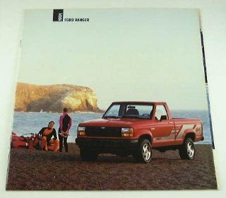 1991 91 Ford RANGER Pickup Truck BROCHURE XLT Sport : Other Products : Everything Else