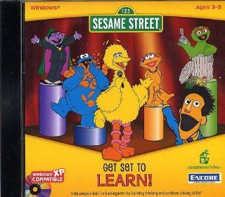 Sesame Street Get Set to Learn Ages 3 6 Software