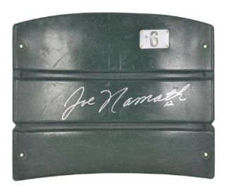 Joe Namath New York Jets Autographed Shea Stadium Seat Back   Memories   Mounted Memories Certified at 's Sports Collectibles Store