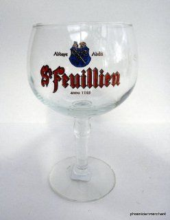 Brewery St Feuillien Abbey Ales Le R?ulx Belgium Special Balloon Beer Glass : Everything Else