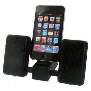 iKan Superior Sound Portable Speakers for iPhone, iPod and MP3 Players : MP3 Players & Accessories