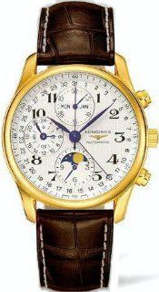 Longines Master Complications 18k Solid Gold Mens Watch L2.673.6.78.5 at  Men's Watch store.