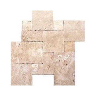 Travertine Pavers Pattern Sets Coliseum Beige / Pattern Set / Tumble : Outdoor And Patio Products : Patio, Lawn & Garden
