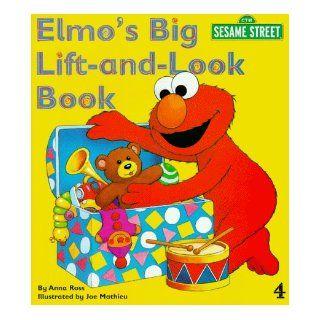 Sesame Street Elmo's Big Lift and Look Book Anna Ross 9780434803040 Books