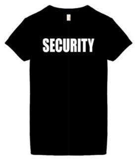 Women's Funny T Shirt (SECURITY) Ladies Shirt Novelty T Shirts Clothing