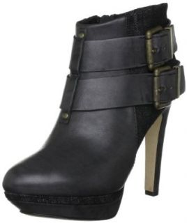 Diesel Women's Sydnay Ankle Boot, Black Leather, 10 M US: Shoes