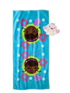 Doc McStuffins Bath Towel and Wash Mitt Set   Childrens Bath Towels