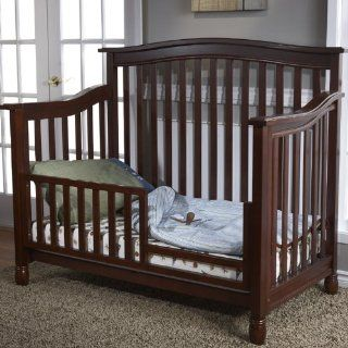 Toddler Bed Conversion Rail Set for Wendy Crib Finish: Chocolate: Toys & Games