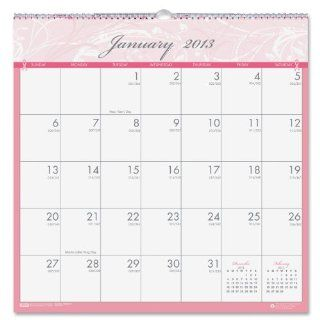 "House of Doolittle Breast Cancer Awareness Monthly Wall Calendar, January December, 2013, 12"" x 12"", Pink & Gray : Office Products"
