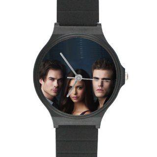 Custom Vampire Diaries Watches Black Plastic High Quality Watch WXW 677 Watches