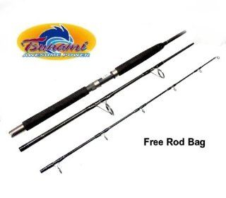 Tsunami TSTBS 703H Fishing Spin Travel Pack Rod 3pc 7'  Sports & Outdoors