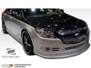 2008 2012 Chevrolet Malibu Duraflex Racer Body Kit   4 Piece   Includes Racer Front Lip Under Spoiler Air Dam (105009) Racer Side Skirts Rocker Panels (105010) Racer Rear Lip Under Spoiler Air Dam (105011) Automotive