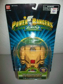 "Power Rangers Zeo Bandai 1996 5"" Pyramidas Megazord Zord action figure MOSC MOC: Toys & Games"