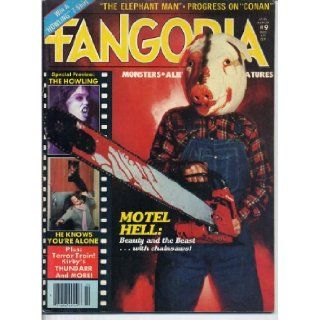 Fangoria Magazine 9 MOTEL HELL Paul Blaisdell TERROR TRAIN Conan HOUSE OF WAX The Howling OUTER LIMITS November 1980 (Fangoria Magazine): Bob Martin: Books
