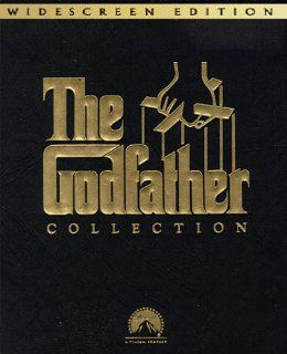 The Godfather Collection (Widescreen Edition) [VHS]: Marlon Brando, Al Pacino, James Caan, Diane Keaton, Robert De Niro, Robert Duvall, Andy Garcia, Richard S. Castellano, Sterling Hayden, John Marley, Richard Conte, Al Lettieri, Francis Ford Coppola, Albe
