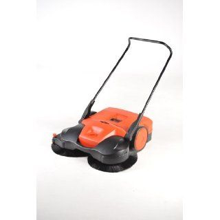"Haaga 697 Profi line Battery Powered Triple Brush Sweeper, 38"" Width Carpet Sweepers Industrial & Scientific"