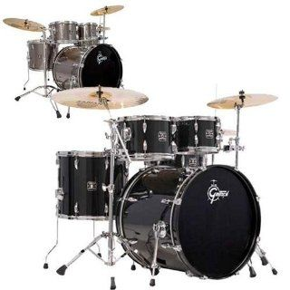 Gretsch GE E8256PK Energy 5 Piece Drum Set   Black Musical Instruments