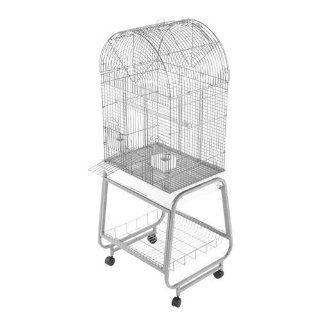 701 AE Dometop Sun Conures Bird Cage 22x17   Sandstone  Birdcages