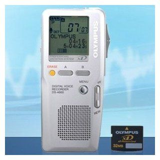 Olympus DS 4000 Digital Voice Recorder   Digital Handheld Dictation   DS4000 Electronics