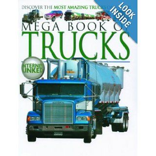 Mega Book of Trucks (Mega Books Series) Lynne Gibbs 9781904516217 Books