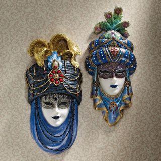 Design Toscano Festa delle Marie Venetian Mask Set