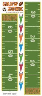 RoomMates RMK1079GC Play Ball Peel & Stick Growth Chart: Home Improvement