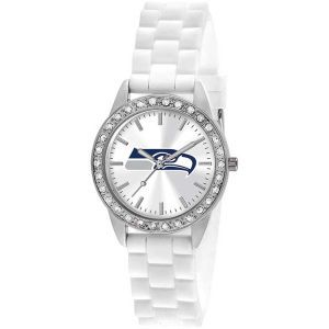 Seattle Seahawks Game Time Pro Womens Frost Watch